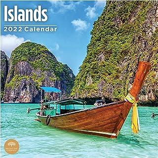 2022 Islands Wall Calendar by Bright Day, 12 x 12 Inch, Beautiful Tropical Destination