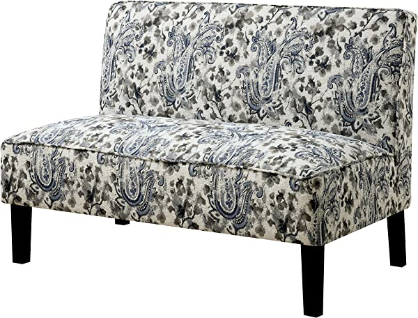 HOMES Inside Out IDF BN1245 Cassidy Armless Bench Love Seats