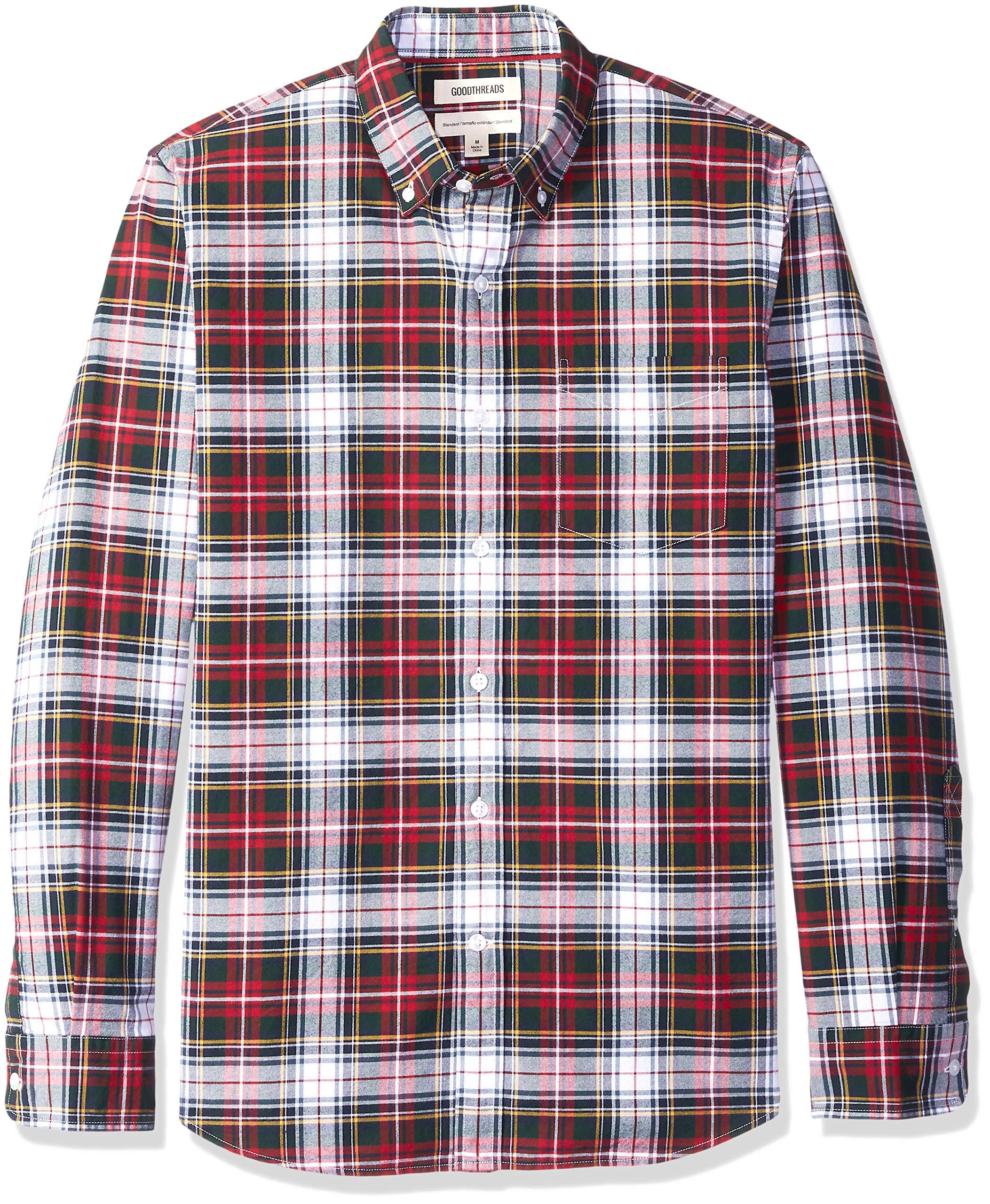 red and blue plaid shirt amazon com