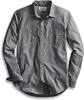 Amazon Brand - Goodthreads Men's Slim-Fit Long-Sleeve Double Pocket Work Shirt