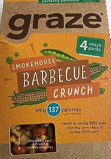Graze Smokehouse Barbecue Crunch 4x31g (Pack van 1)