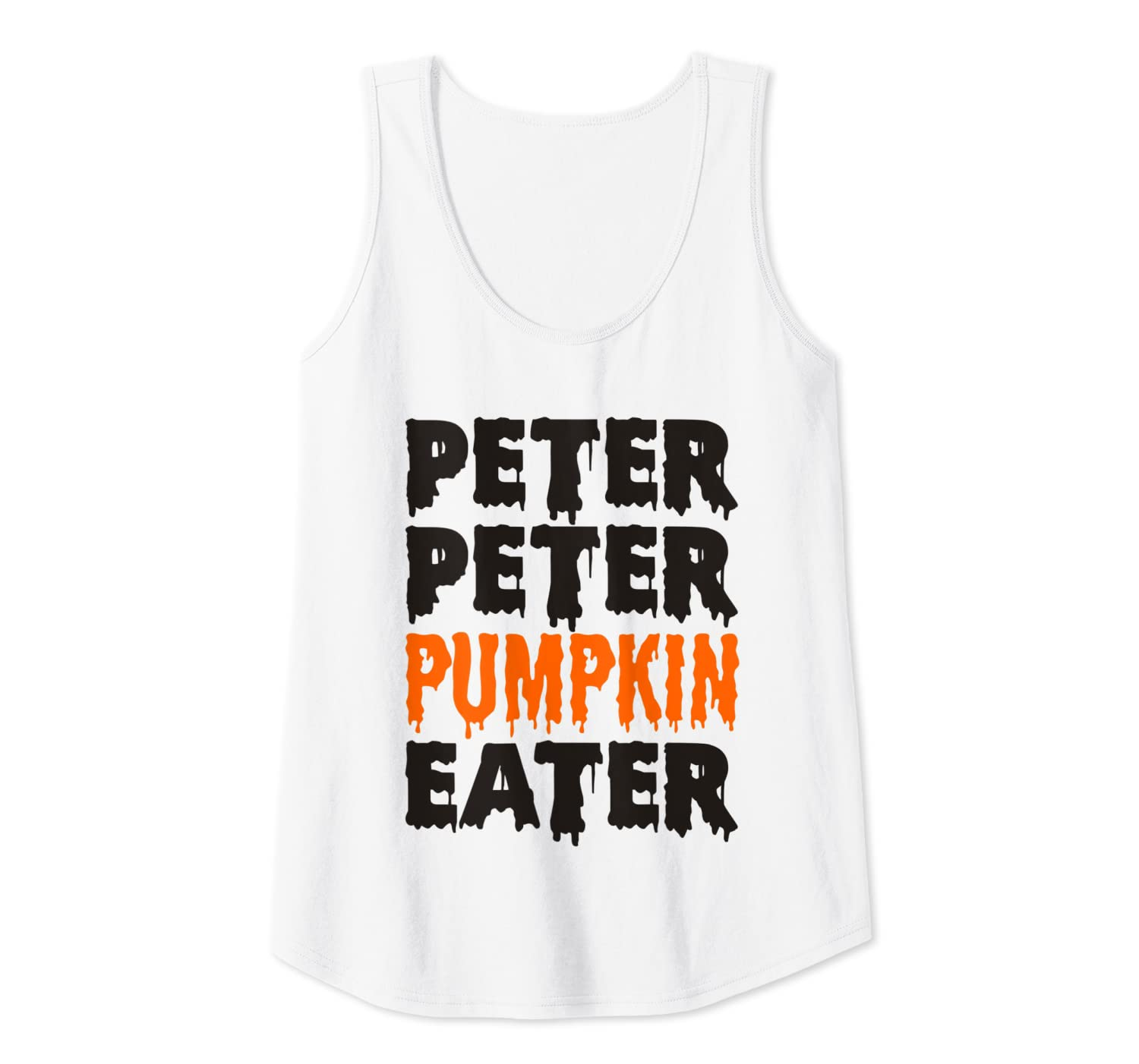Adult Halloween Costume for Couples Peter Pumpkin Eater Mens Tank Top