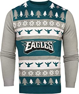 NFL Philadelphia Eagles One Too Many Light Up Sweater, Medium