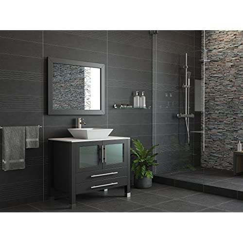 Remarkable Solid Wood Bathroom Vanities Amazon Com Download Free Architecture Designs Ogrambritishbridgeorg