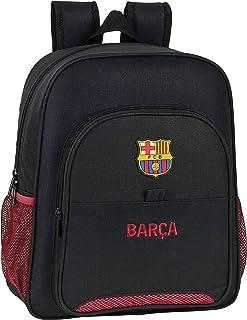 612027640 Mochila Junior niño Adaptable Carro FC Barcelona, Negro