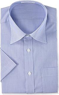 [アオキ] お手入れ簡単 半袖ノンアイロンクールシャツ 【綿混/涼しい/吸汗速乾/ビジネス/クールビズ】 メンズ