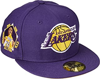 New Era 59Fifty NBA Hat Los Angeles Lakers Kobe Bryant All Star Champion Purple Fitted Cap
