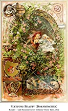 Extraordinary Nursery Decor by Tom Hawkins Photography Sleeping Beauty, Beautiful Fine Art Print from The Brother's Grimms Fairy Tales Book Titled Kinder - und Hausmärchen, 1812 (11x14 inches)