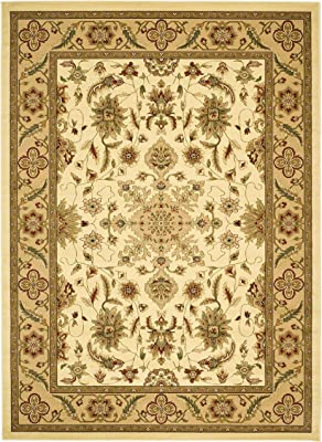 Safavieh Lyndhurst Collection LNH211A Traditional Oriental Ivory and Tan Area Rug (4' x 6')