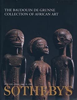 Sotheby's : The Baudouin de Grunne Collection of African Art : New York : May 19, 2000, Sale No. 7473