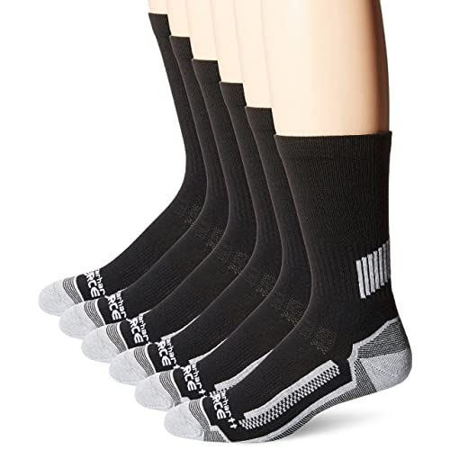 free shipping 4ee7a 2d268 Carhartt Men s 6 Pack Force Performance Work Crew Socks