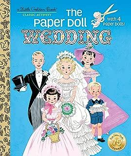 The Paper Doll Wedding (Little Golden Book)