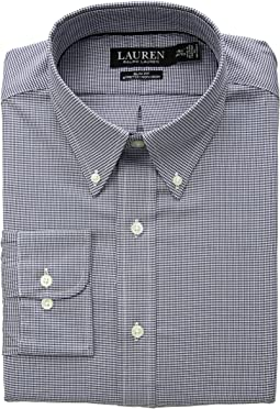 Slim Fit Non Iron Stretch Twill Dress Shirt