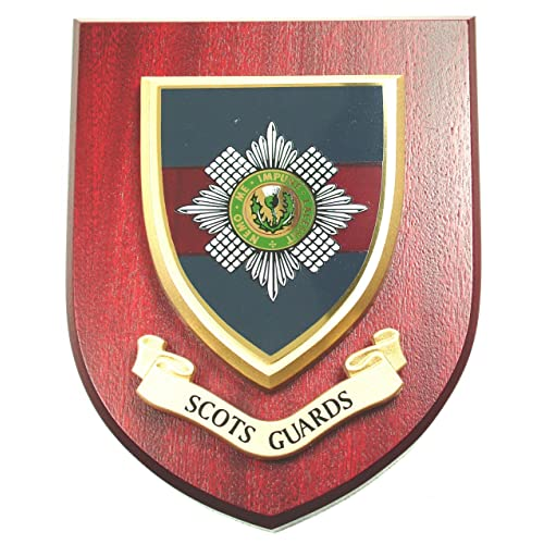 Scots Guards Wall / Mess Plaque