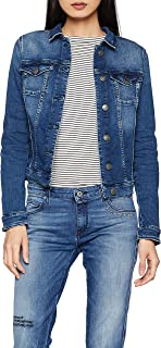 Women's Jean Slim Denim Trucker Jacket