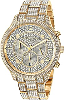 Michael Kors Women's Runway Quartz Watch with Stainless-Steel Strap