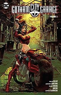 supergirl gotham city garage