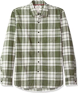 Amazon Brand - Goodthreads Men's Standard-Fit Long-Sleeve Brushed Flannel Shirt