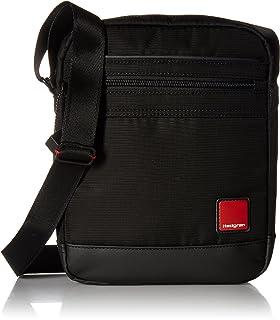 Hedgren men Shoulder Bag, Black, (HRDT01-003-01)