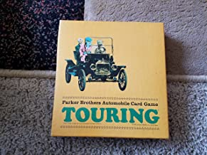 VINTAGE CARD GAME -- Touring -- Parker Brothers Automobile Card Game -- 1965 -- complete with instructions