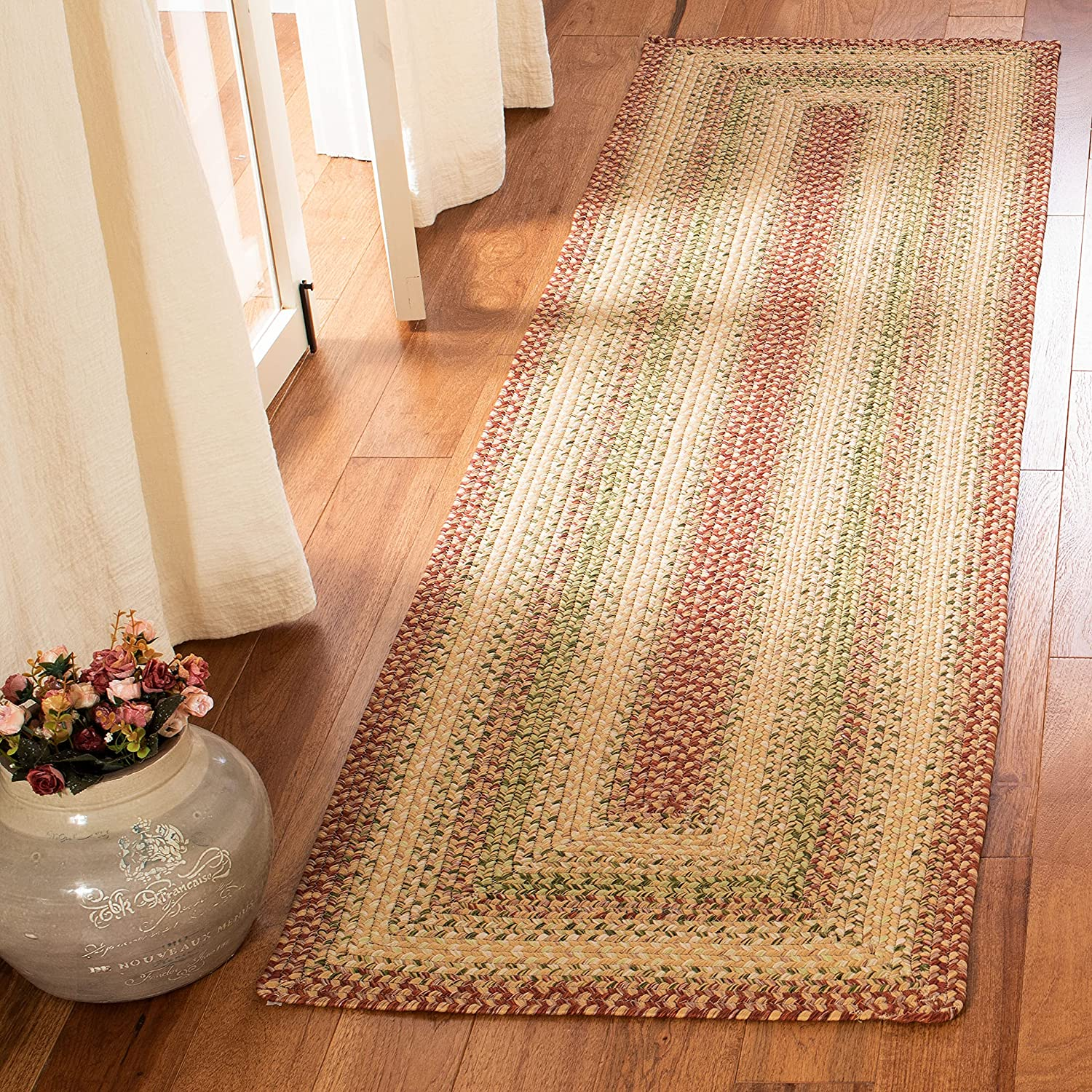 Fashionable Safavieh Braided Collection BRD303A Handmade Rev Cottage Max 54% OFF Country