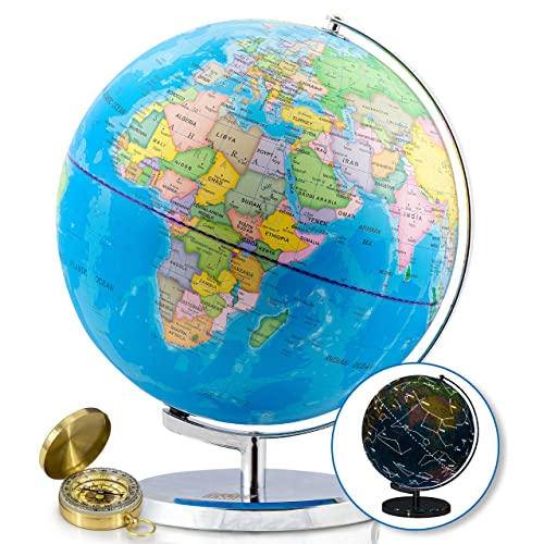 World Map Sphere Amazon Com