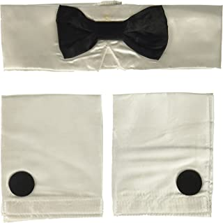 Costume Co. Men's Deluxe Collar, Tie, and Cuffs Costume Accessory