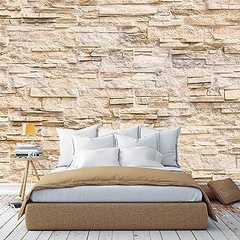 Nappes Papier Peint Pierres 3d Mur Briques Papier Peint Peintures Murales XXL Salon