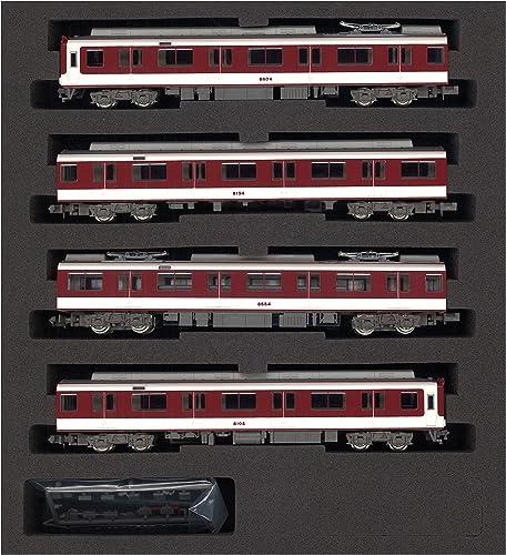 Spur N 4742 Kintetsu 8600 System das vergangene Geschaeftsjahr foermige neue Farbe 8604 vier Gründ Auto Zugverband organisiert (mit Strom) (lackiert PVC)