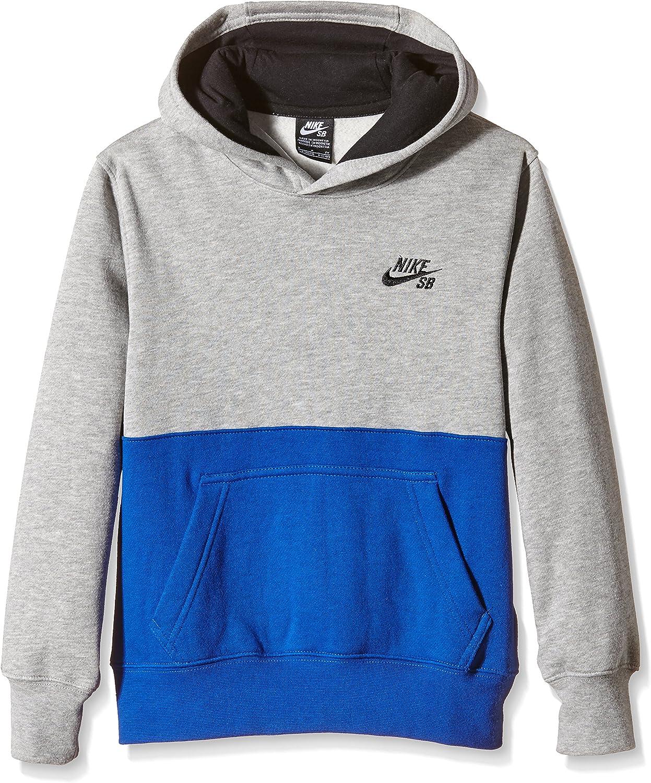 Boys 8-20 Nike SB Fleece Hoodie, Dark Gray Heather, Medium