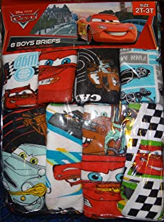Disney Pixar Cars 8 Boys Briefs Handcraft