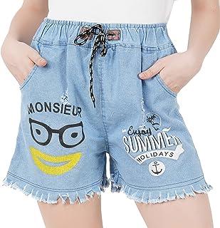 WILFREDO Summer Denim Shorts for Women's (Pack of 1)