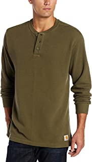Carhartt Men's Textured Knit Henley Relaxed Fit