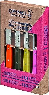 Opinel 1452 Les Essentiels du Cuisinier Coffret de 4 Couteaux
