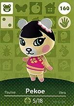 Nintendo Animal Crossing Happy Home Designer Amiibo Card Pekoe 160/200 USA Version
