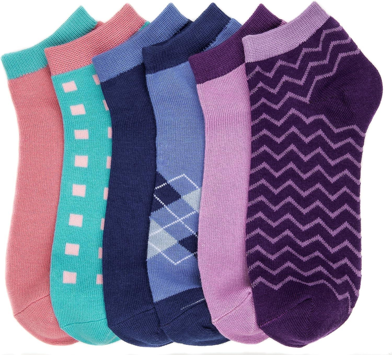Noble Mount Women's Combed Cotton Premium Low Cut Socks