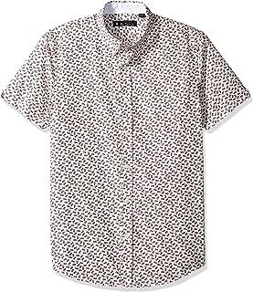 Ben Sherman Men's Ss Pineapple Print Shirt