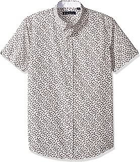 Men's Ss Pineapple Print Shirt