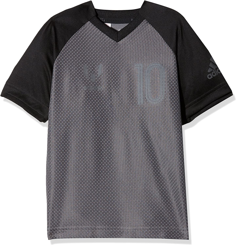 adidas Jungen Messi Kurzarm-Shirt