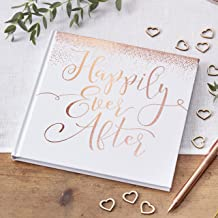 Rose Gold Foiled Guest Book