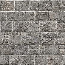 ورق جدران من ان هوم NHS3759 ، رمادي