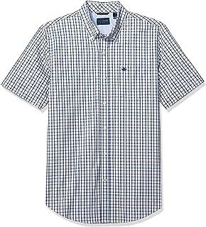 Men's Short-Sleeve Button-Down Comfort Flex Shirt