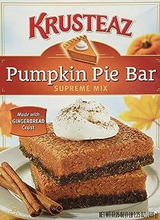 Krusteaz, Pumpkin Pie Bar Supreme Mix, 17.25oz Box (Pack of 3)