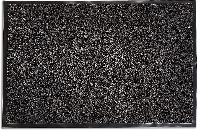 Amazon Basics - Felpudo antideslizante, de polipropileno, 40 x 60 cm