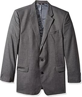 J.M. Haggar Men's Sharkskin Premium Classic-Fit Stretch Suit Separate Coat Blazer