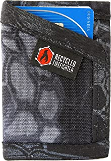 Slim Wallet for Men, Front Pocket Wallet, Nylon Fabric Small Travel Wallet