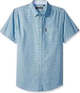 Ben Sherman Men's Ss Flrl Clustr PRNT Shirt