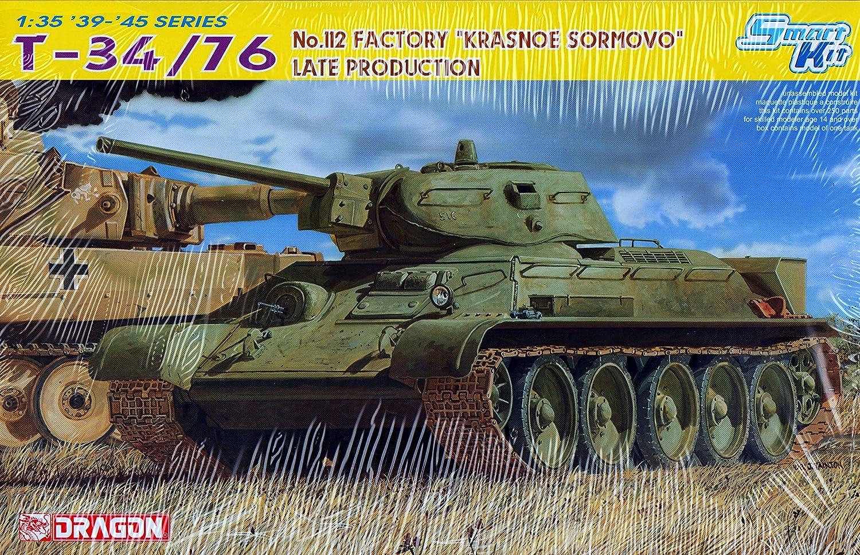 Dragon  T34 76 No.112 Factory Krasone Sormovo