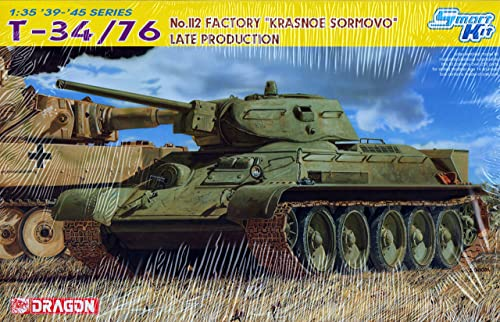 Dragon - T-34 76 No.112 Factory Krasnoe Sormovo Late Production