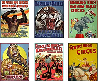 Best vintage ringling brothers circus posters Reviews